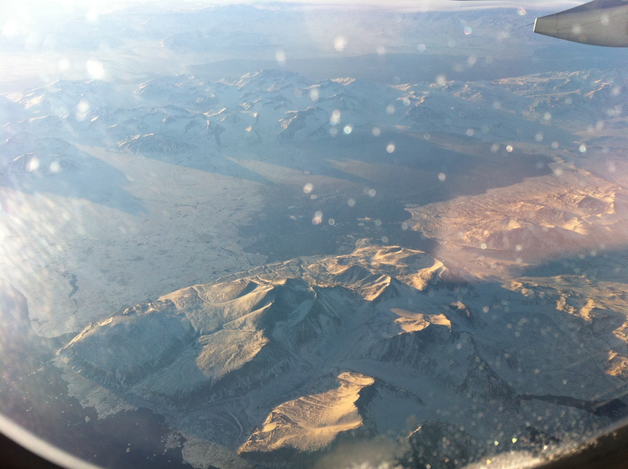 Mountains from the plane