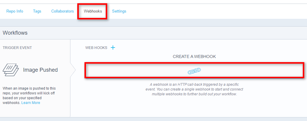 Docker Hub WebHook