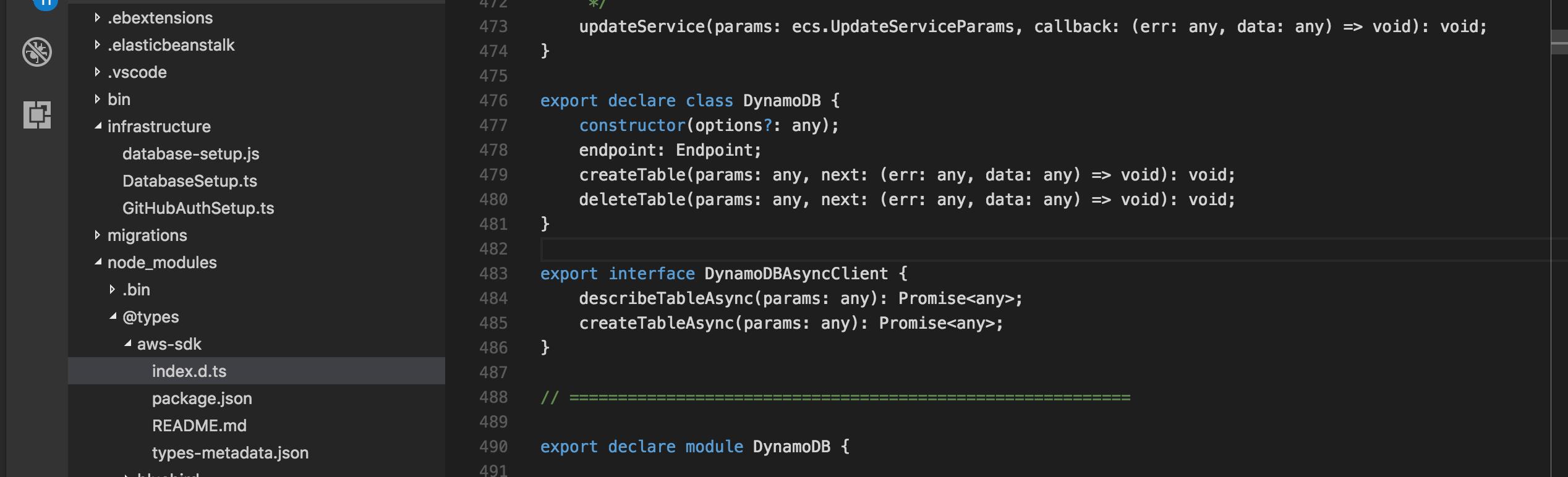 DynamoDB_Async_Client_Declaration