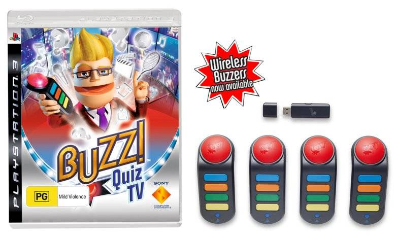 Quiz Game with Play Station Buzz